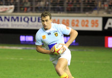 Top 14 rugby match USAP vs RC Toulon Stock Photo