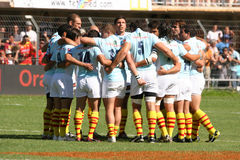 Top 14 rugby match USAP vs Stade Toulousain Royalty Free Stock Photos