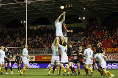 Top 14 rugby match USAP vs Toulouse Royalty Free Stock Photography