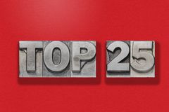 Free Top 25 On Red Royalty Free Stock Images - 101183779