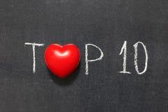 top 10 Zdjęcie Stock