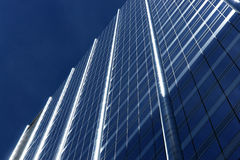 The top. Of a highrise building Royalty Free Stock Image