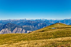 At the top of the Alps. Nice view at the top of the Italian Alps Royalty Free Stock Photography