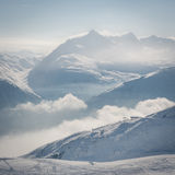 Top of the Alps Royalty Free Stock Photography