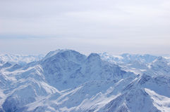 Top of alps mountains Stock Photography