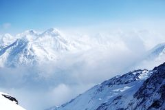 Top of alps Stock Photos