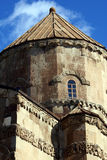 Top of Armenian church. Armenian church on Akdamar island, lake Van, Turkey Stock Photography
