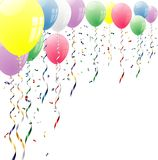 Top balloons Stock Image
