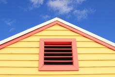 Top of the beach house Stock Image