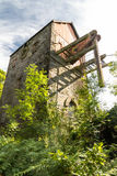 Top of beam engine surrounded by trees. Royalty Free Stock Photography