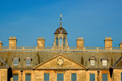 Top of Belton house Royalty Free Stock Image
