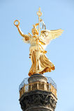 Top of the Berlin's victory column Royalty Free Stock Images