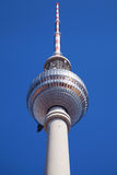 Top of the Berlin TV Tower Stock Photography