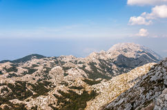 Top of Biokovo mountains Royalty Free Stock Image