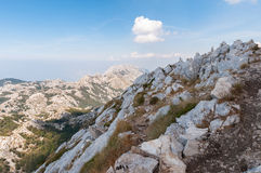 Top of the Biokovo Mountains Stock Image