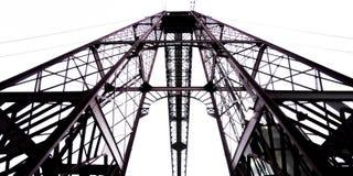 Top of the Bizkaia suspension bridge Stock Photos