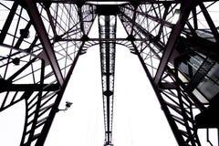 Top of the Bizkaia suspension bridge Royalty Free Stock Photo