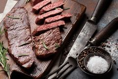 Top blade or denver steak stock images