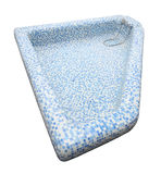 Top of blue tile mosaic pool Royalty Free Stock Photos