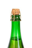 Top of the a bottle of a sparkling drink Royalty Free Stock Image