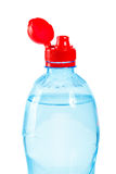 Top of bottle with water Royalty Free Stock Photo