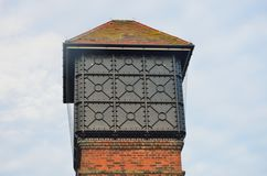 Top of Brick Water Tower Royalty Free Stock Photos