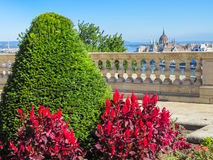 At the top of Buda Hill, Budapest, Hungary Royalty Free Stock Photography