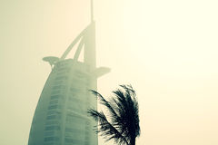 Top of the Burj Al Arab Stock Images