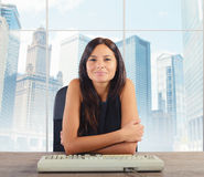 Top businesswoman Stock Image