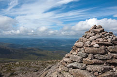 At the top of Cairngorm Mountain Stock Photography