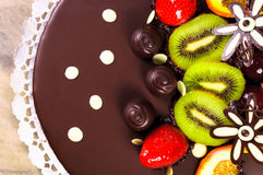 Top of a cake Royalty Free Stock Photography