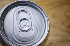 Top of a can Stock Photo