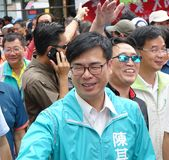 Top Candidate for Kaohsiung Mayor Royalty Free Stock Image