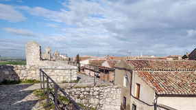 Top of the castle Stock Photos
