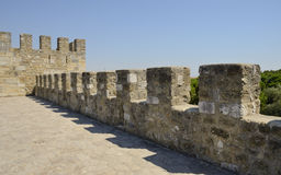 At Top castle Royalty Free Stock Photography