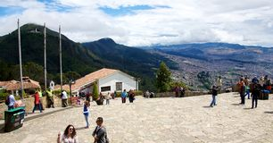 On top of Cerro de Monserrate Royalty Free Stock Photo