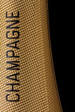 Top of a champagne bottle Stock Images