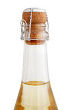 Top of a Champagne bottle Stock Photography