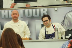 Top chefs on tour Stock Image