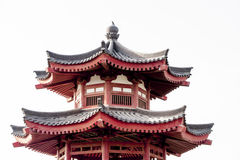 Top of Chinese Pagoda Stock Photography