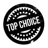 Top Choice rubber stamp Royalty Free Stock Images