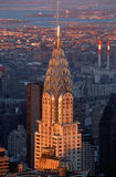 Top of Chrysler Building, NY, NY Royalty Free Stock Image