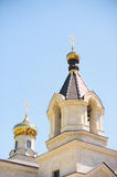 Top of Church Building Royalty Free Stock Photography