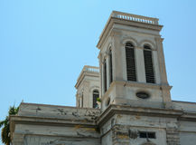 Top of the church in George Town, Malaysia Stock Photography