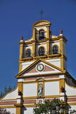 Top of the church in the town of La Linea de la Concepcion in southern Spain Royalty Free Stock Images