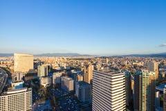 Top City View at Fukuoka Royalty Free Stock Photography