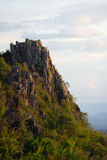 The top of cliff. Doi Samer-Dao in Nan, Thailand Stock Photography