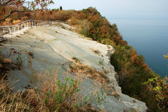Top of the cliff of Moon Bay Royalty Free Stock Images