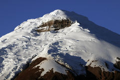 Top of the cotopaxi Stock Photos