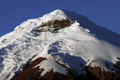 Top of the cotopaxi. The top of the Cotopaxi volcano (5897 m) in Ecuador stock photos